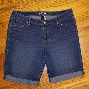 Apt. 9 Essentials Bermuda Shorts
